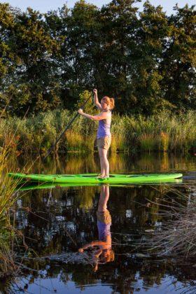 Wassersport: aus eigener Kracht